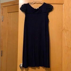 NWOT LOFT Navy Blue Dress - Size medium petite